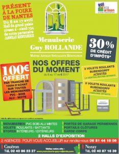 Menuiserie Guy Rollande - Maître Artisan Spécialiste Rénovation en Loire Atlantique (44)